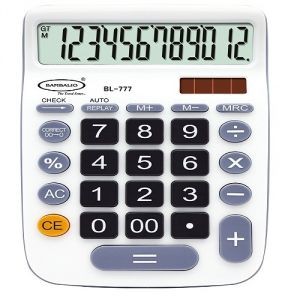 Bambalio Electronic Calculator - Bl-777 (multicolor)