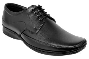 Formal Shoes (Men's) - Ajeraa Men's Black Formal Shoes ( Code - Ajeraa-FormalShoes-003 )