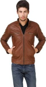 Jackets - Ajeraa Men's Solid Full Sleeves Zipper Jacket (code - Ajeraa_american_crew_jacket03)
