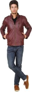 Jackets - Ajeraa Men's Solid Full Sleeves Zipper Jacket (code - Ajeraa_american_crew_jacket17)