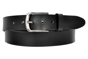 Ajeraa Mens Geniune Leather Belt ( Code - Ajeraa_black_leatherbelt_0032 )
