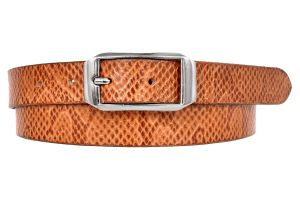 Ajeraa Ladies Geniune Leather Belt ( Code - Ajeraa_yellow_leatherbelt_0030 )