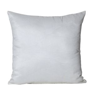 Monogram Silver Square Polyester Cushion Cover Solid Colour-5 PCs Setsilver (code - 552a1860)