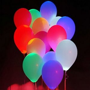 Decorative Lights - LED Balloons for Party Festival Celebrations (Set of 25)