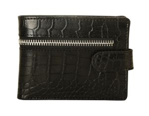 Louis Stitch Elligator Bolt Pure Leather Wallet