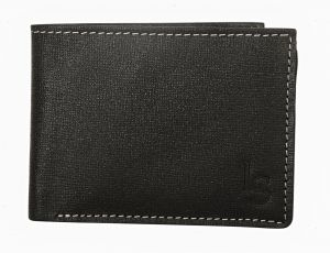 Louis Stitch | Black Moon | Pure Leather Wallet