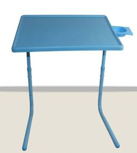 Table Mate 2 Blue With Cup Holder