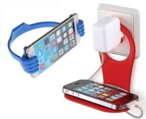 Combo Of Mobile Charging Stand And Ok Mobile Stand Holder