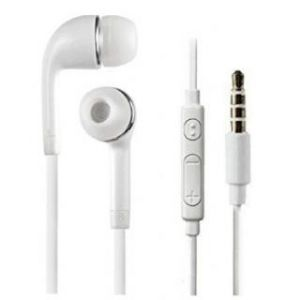 Samshi J5 Earphones With Mic (white)