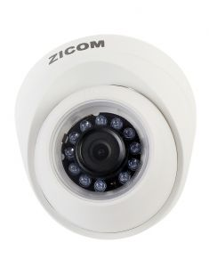 Zicom White Indoor Office & Home Equipments IP Dome Camera