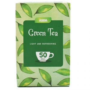 Asda Green Tea, 50 Bags - 125g