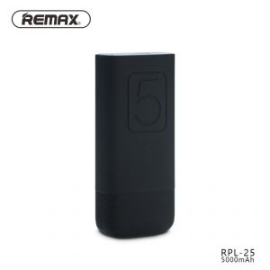 Remax Flinc Powerbank 5000mah 2.1a (rpl-25) - Black