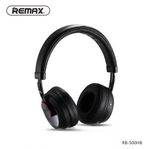 Remax Music Bluetooth Headphones Rb-500hb - Black