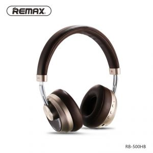 Remax Music Bluetooth Headphones Rb-500hb - Brown