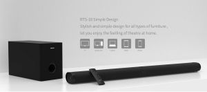Remax Soundbar Home Theater With Subwoofer Bluetooth 2.1 (rts-10)