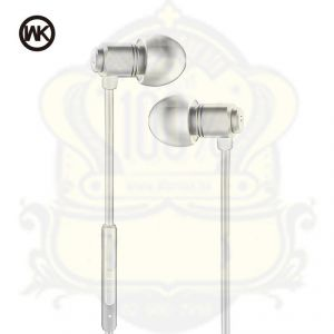 Wk In-ear Wired Metal Stereo Headphones Wi520 - White