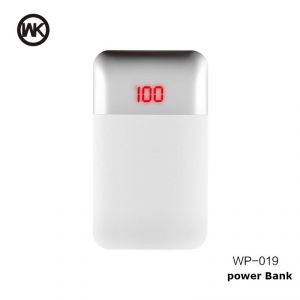 Mak 10000Mah Power Bank With Led Display WP-019 - White