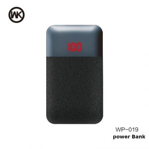 Mak 10000Mah Power Bank With Led Display WP-019 - Black