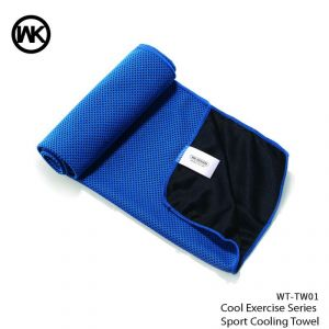 Wk Cool Exercise Series Sport Cooling Towel Wt-tw01 - Blue