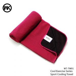 Wk Cool Exercise Series Sport Cooling Towel Wt-tw01 - Pink