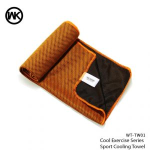 Wk Cool Exercise Series Sport Cooling Towel Wt-tw01 - Orange