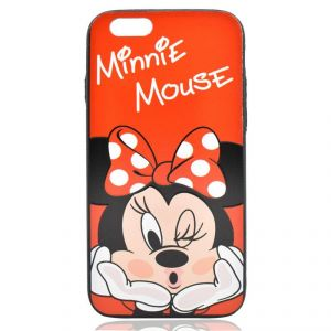 iPhone 6/6s Cases & Covers - Minnie Mouse Red Hard Polycarbonate Back Case Cover