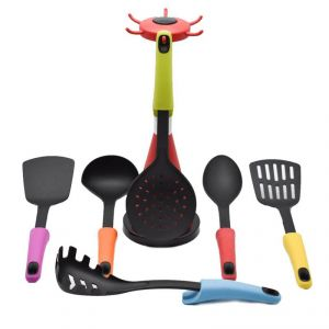 Cook Style Kitchen Tool Set (set Of 7) - Red