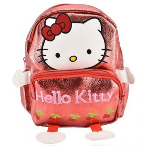 Mini Backpack Hello Kitty School Bag For Kids - Red