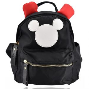 Mini Backpack Micky School Bag For Kids - Black