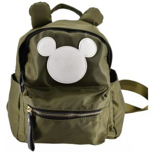 Mini Backpack Micky School Bag For Kids - Green