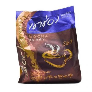 Khao Shong Mocha 3in1 Coffee Mix Powder- 660g (30x22g)