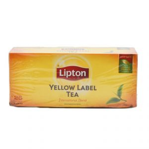 Lipton Yellow Tea International Blend, 25 Bags - 50g