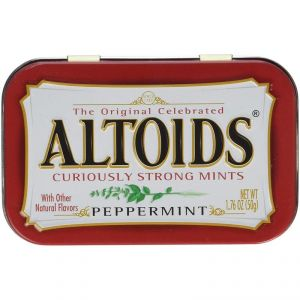 Altoids Curiously Strong Mints, Peppermint - 50g