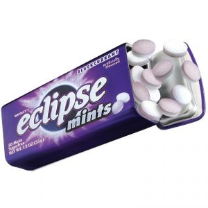 Eclipse Mints Sugarfree Blackcurrant Flavour 50 Mints - 35g(1.2oz)