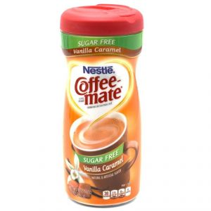 Nestle Coffee-mate Sugar Free, Vanilla Caramel Coffee Creamer - 289.1g(10.2oz)