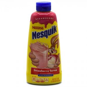 Nestle Nesquik Strawberry Syrup - 623.6g(22oz)