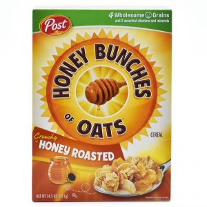 Post Honey Bunches Of Oats Crunchy Honey Roasted Cereal - 411g(14.5oz)