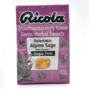 Ricola Sugar Free Swiss Herbal Sweets, 45g - Delectable Alpine Sage