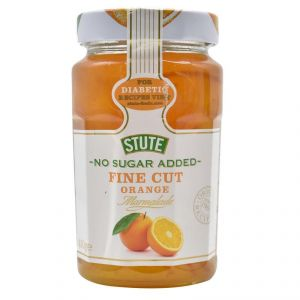 Stute No Sugar Added Fine Cut Orange Marmalade Jam - 430g