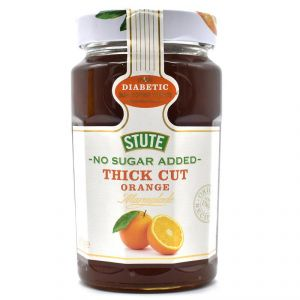 Stute No Sugar Added Thick Cut Orange Marmalade Jam - 430g