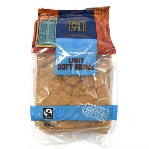 Tate Lyle Medium Bodied Buttery Light Soft Brown Cane Sugar - 500g