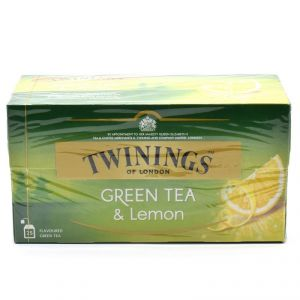 Twinnings Green Tea & Lemon, 25 Tea Bags - 40g