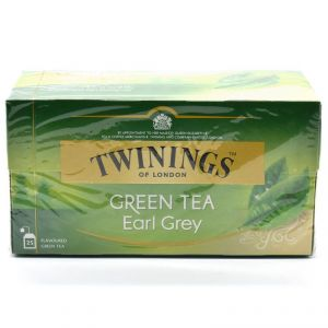 Twinnings Green Tea Earl Grey, 25 Tea Bags - 40g