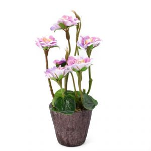 Artificial Potted Plants For Home Dcor - Purple