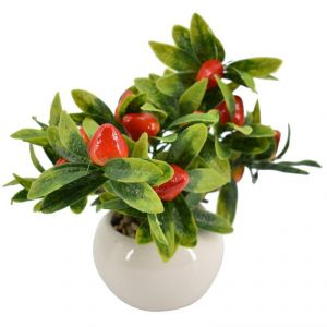 Artificial Potted Plants For Home Dcor - Strawberry
