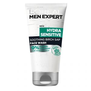 Loreal Paris Men Expert Hydra Sensitive Smoothing Birch Sap Face Wash - 150ml