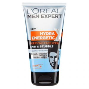 Loreal Paris Men Expert Hydra Energetic Purifing Skin & Stubble Face Wash - 150ml