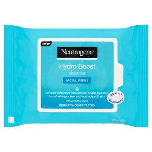 Neutrogena Hydro Boost Cleanser Facial Wipes - Pack Of 25