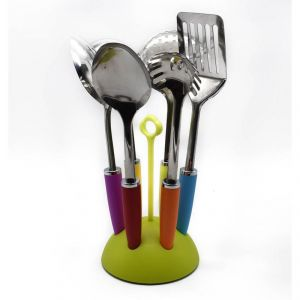 Cook Style Kitchen Tool Set (set Of 7) - Green