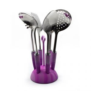 Cook Style Kitchen Tool Set (set Of 7) - Pink